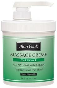 Bon Vital' Naturale Massage Cream - 14oz