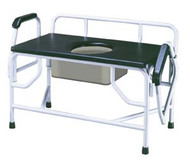 Drive Medical Bariatric Extra Large Drop Arm Commode