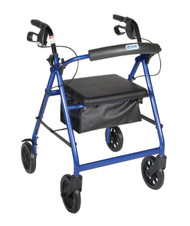 Drive Medical Aluminum Rollator with Fold Up and Removable Back Support DMR728?