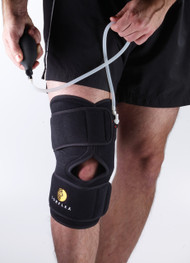 Corflex Cryo Pneumatic Knee Splint w/ 2 Gel Packs
