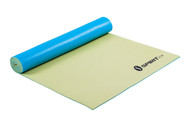 "Spirit TCR Yoga Mat 24"" x 69"" x 5mm Lemon/Teal"