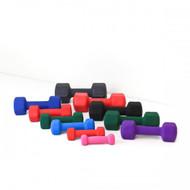 Element Fitness Neoprene Dumbbells 10 lbs