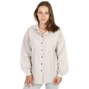 Light Corded Cotton Shirt Jacket (662) Sand