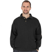 Canton Cotton Weekender Polo - Black