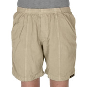 All-Cotton Beefy Sport Shorts - Khaki