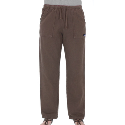 Women's Cotton 8oz Campcloth WINTER Play Pant Java