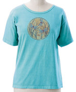 Organic Cotton Dragon Fly Short Sleeve Tee