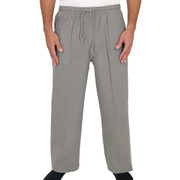 Cotton Pocket Drawstring Mid Weight Pant for Men Taupe