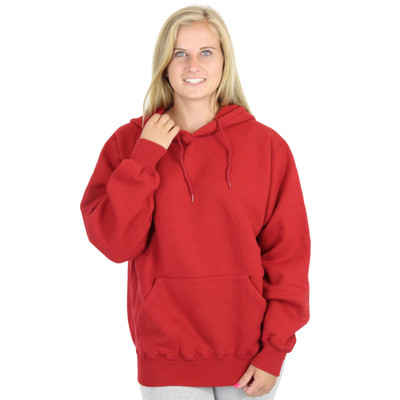 100% Heavy Cotton Womens Hoodie Pullover Sweatshirt Made in Canada
