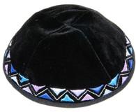 Black Velvet Kippah