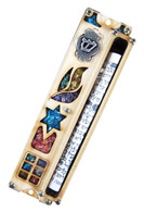 Handmade Door Mezuzah with Scroll