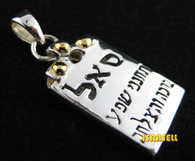 Kabbalah Power of Prosperity Blessing Pendant