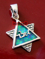 KABBALAH STAR OF DAVID WAILING WALL PENDANT