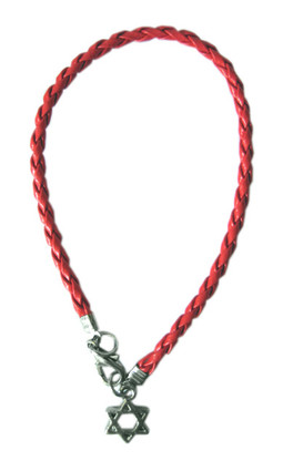 Red String KABBALAH STAR of DAVID Bracelet
