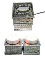 SHABBAT TRAVEL CANDLESTICKS