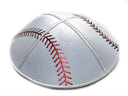 Baseball Leather Kippah