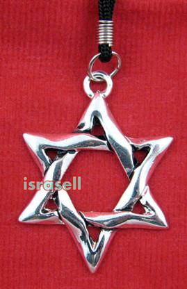 JEWISH STAR OF DAVID NECKLACE