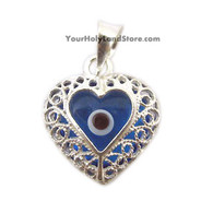 Evil Eye Protection and Luck Filigree Pendant