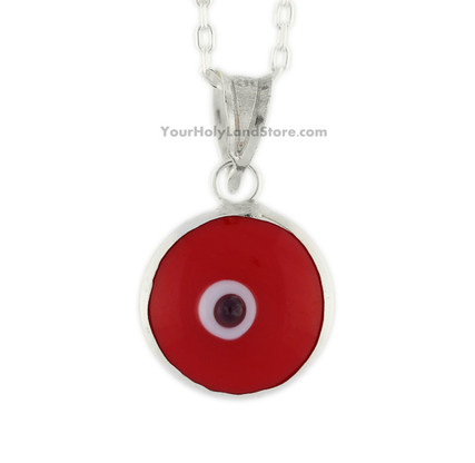 RED PROTECTION PENDANT AGAINST EVIL EYE