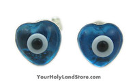 925 Sterling Silver EVIL EYE EARRINGS