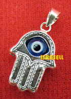 Hamsa Hand Luck and Protection Pendant