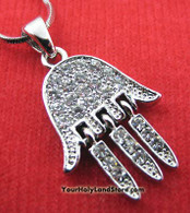 """Hand of God"" Necklace"