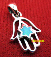PROTECTION HAND & STAR OF DAVID PENDANT