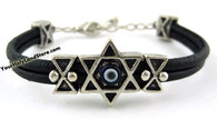 Evil Eye Protection Bracelet with Star of Magen David