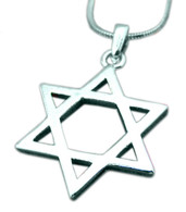 Jewish Star of Magen David Necklace