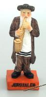 Jewish Hasid Figurine With Saxophone