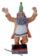 Dancing Jewish Hasid Figurine