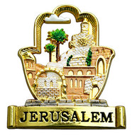 Jerusalem Colorful Magnet
