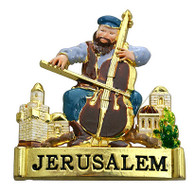 Fiddler On The Roof Magnet From Israel