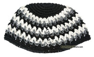 Black & White Big Kippah