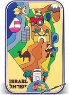 ISRAEL MAP MAGNET