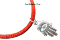 Sterling Silver KABBALAH RED STRING BRACELET
