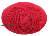 Red Knitted Kippah