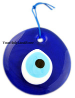 GLASS PENDANT AGAINST EVIL EYE