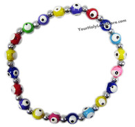 EVIL EYE PROTECTION STRECH BRACELET