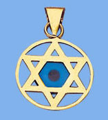 Solid Gold STAR OF DAVID PENDANT