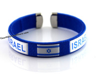Support Israel Flag Bracelet
