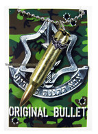 IDF Commando Bullet Necklace