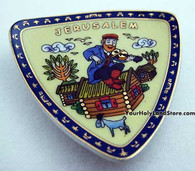 FIDDLER ON THE ROOF CERAMIC MAGNET