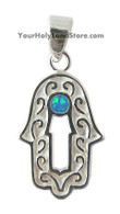 Kabbalah Hand Necklace