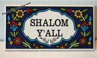 SHALOM DOOR SIGN