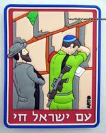 JEWISH JERUSALEM MAGNET
