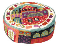 HAND EMBROIDERED JEWISH HAT