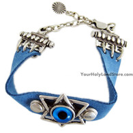 EVIL EYE & STAR OF DAVID BRACELET