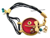 Protection Against Evil Eye Bracelet - 14K Gold Plated