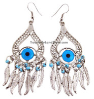 PROTECTION AGAINST EVIL EYE EARRINGS